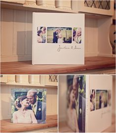 Like the rounded corners on the photos... Jonathan & Anna's beautiful 12x12 press printed book