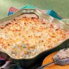 "Chicken Shepherd's Pie. I've made this before. It turned out delicious. It was one of those ""hit the spot"" dishes."