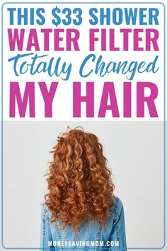 Does your hair feel icky? Something as simple as a shower water filter might be an easy, inexpensive solution! Shower Water Filter, Whole House Water Filter, Money Saving Mom, Living On A Budget, Get Free Stuff, Amazing Shopping, Just Run, Change Me, Shopping Hacks