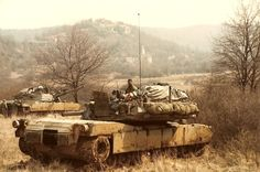 A/2-66 Armor in Hohenfels FRG 1985 - Tank Crew Maintenance
