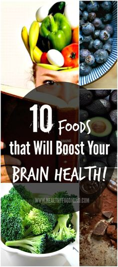 """Huge improvement! Research is showing that you can increase your chances of maintaining a healthy brain well into your old age if you add these """"smart"""" foods to your daily diet..."""