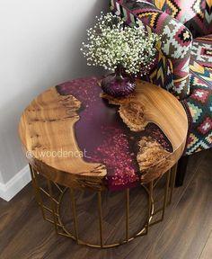 Gedanken zu diesem Beistelltisch des talentierten Ich denke, sie n… Thoughts on this side table of the talented I think she's nailing … – ص 1 – Epoxy Resin Table, Epoxy Resin Art, Diy Resin Art, Diy Resin Crafts, Diy Resin Table, Wood Table Design, Wood Furniture, Diy Resin Furniture, Furniture Ideas