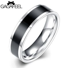 >> Click to Buy << GAGAFEEL Cool Black Rings Vintage Top Quality Stainless Steel Men Jewelry Ring For Men Gift Wedding Male Ring Free Shipping #Affiliate