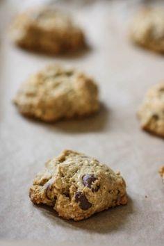 """Chocolate chip pistachio """"breakfast"""" cookies"""