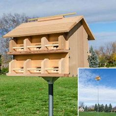 The Ultra Purple Martin House Pole Spring Hill Nursery Bird
