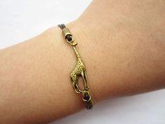 Aww little giraffe bracelet!