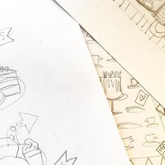 Sneaky template sketches for the Always Tea-time #EmbellishBox ... got yours yet?
