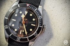 Tudor Black Bay Black Bezel 79220N - gold dial and hands