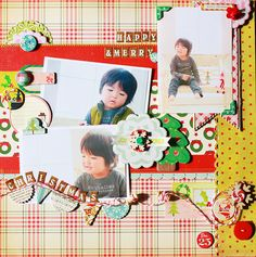 Happy Merry Christmas by michi_poki, via Flickr
