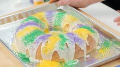 How To make your own King Cake just in time for Mardi Gras!