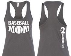 All star Baseball Mom Tank Baseball Mom Shirt All star Mom