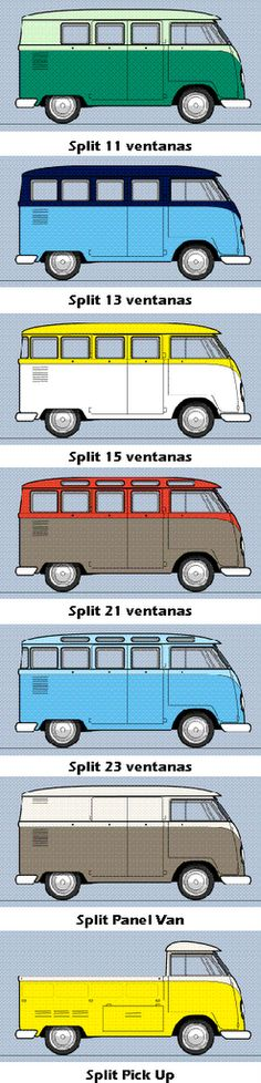 VW Kombi campers