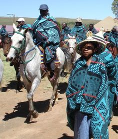 """yagazieemezi: """" CULTURE & TRADITION: Tribal blankets have been marked with cultural significance and history by various African cultures and nations. Basotho tribal blankets distinguish this nation. African Beauty, African Fashion, African Style, Namaste, Military Costumes, African Traditions, African Textiles, African Culture, People Around The World"""