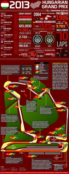 2013 Hungarian Grand Prix: Facts and Figures #F1
