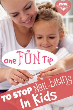 Stop nail-biting in kids once and for all with this FUN tip!