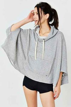 Without Walls Warm-Up Poncho - Urban Outfitters