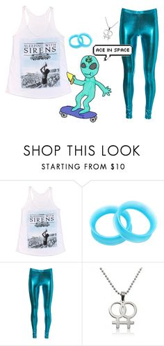 """""""i would rock those leggings"""" by twenty-one-rins ❤ liked on Polyvore featuring Hot Topic"""