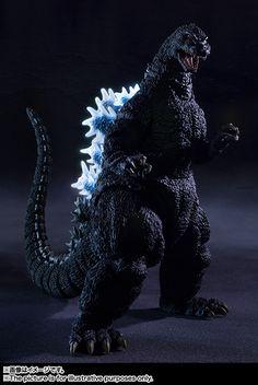 ToyzMag.com » S.H.MonsterArts Godzilla (1989)