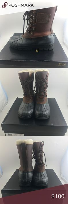 1bcd76b53896 Polo Ralph Lauren Men s Longhirst Winter Boot Brand new in box. Stay  stylish even when