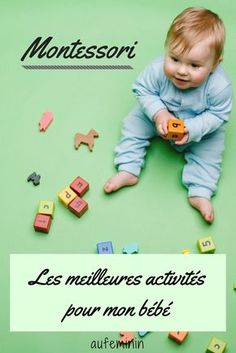 The Montessori philosophy seduces many parents. More and more of them are asking themselves questions about the education they have […] Montessori Baby, Montessori Activities, Infant Activities, Baby Care Tips, Baby Swings, Baby Supplies, Baby Hacks, Trendy Baby, Baby Fever