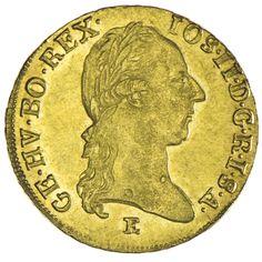 Josef II. 1765/80 - 1790 Dukat 1789 E Gold