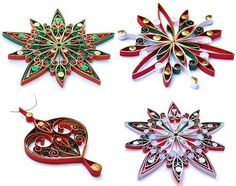 Quilled-Christmas-Ornaments