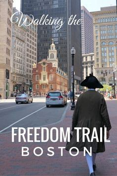 See the historical sights an attractions by walking the Freedom Trail in Boston with kids. Boston Vacation, Boston Travel, Boston Weekend, Vacation Spots, Boston With Kids, In Boston, Boston Walking Tour, Visit Boston, Boston Food