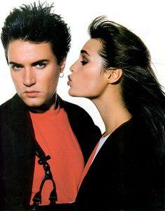 Simon & Yasmin Le Bon  via Miris via Marie Lou Thomas