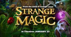 "Disney's First Movie Of 2015, ""Strange Magic"" – Meet the Creatures & Cast"