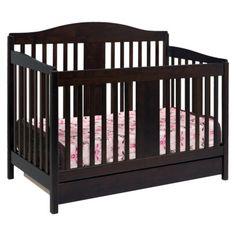 Davinci Richmond 4-in-1 Crib With Toddler Rail - Espresso