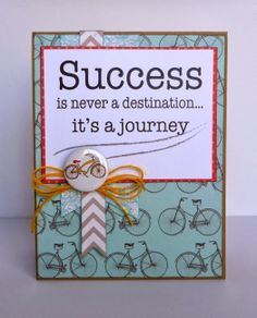 Success Card by Dana Tatar - Quick Quotes Baggage Claim Collection + Quick Quotes Sentiment Quote Cards
