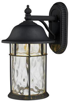 "Lapuente 1-Light 14""H Outdoor Wall Mount - Outdoor Lighting - Lighting - Home Decor | HomeDecorators.com"
