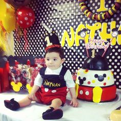 Mickey Mouse Theme for Birthday