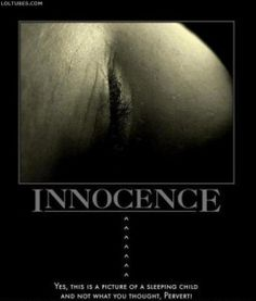 INNOCENCE OR D!RTY MIND