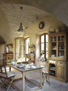 Kitchen - rustic - beautiful | via Weranda Country.pl