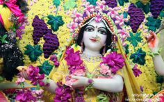 To view Radha Close Up Wallpaper of ISKCON Chowpatty in difference sizes visit - http://harekrishnawallpapers.com/srimati-radharani-close-up-wallpaper-004/