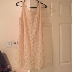 Candies Cream Lace Dress
