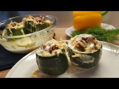 Фаршированные Кабачки. Лучший рецепт!!! - YouTube Zucchini, Vegetables, Youtube, Food, Essen, Vegetable Recipes, Meals, Youtubers, Yemek