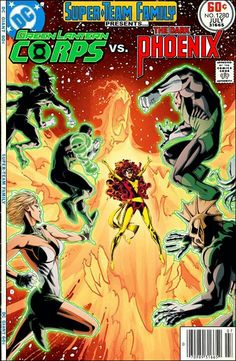 Super Team Family: Green Lantern Corps and Phoenix