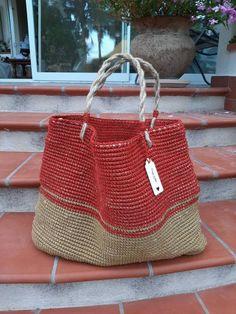 Straw Bag, Diy Crafts, Crochet, Etsy, Make Your Own, Ganchillo, Homemade, Craft, Crocheting