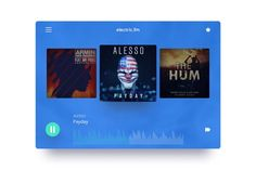 Fm Music, Alesso, Web Ui Design, Armin, Website Template, Templates, Modern, Stencils, Trendy Tree