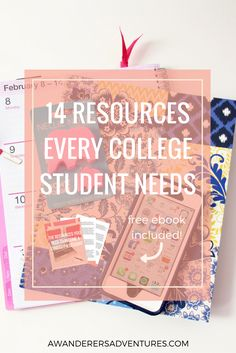 College can be hard, but it doesn't have to be! Click through to get a FREE ebook with over 30 resources to help you succeed in college!