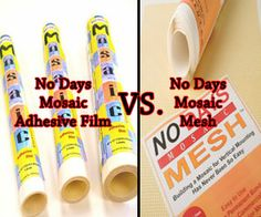 Streuter Technologies: Q&A Monday ~ Mosaic Mesh vs film adhesive Mosaic Tiles, Mosaics, Mosaic Projects, Stained Glass, Adhesive, Bee, Tutorials, Templates, Tools
