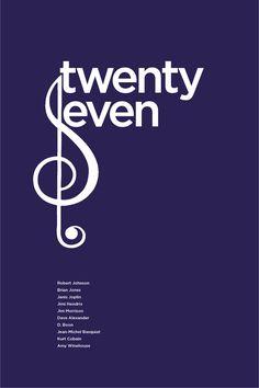 BBCX365: Twenty-seven club. Sleek & Simple