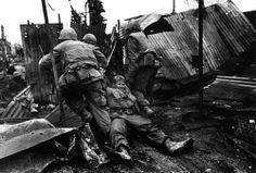 US Marines, Hue, Vietnam - 1968.