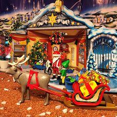 Montando el #belen 1/3 #playmobil #navidad #Christmas #santaclaus #santa #papanoel