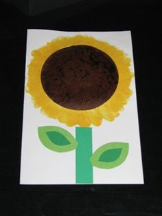 """Sunflower """"My Love for you Never Ends"""" card from Making Learning Fun. Kids Learning Activities, Fun Learning, Mother's Day Theme, Early Learning, Flower Crafts, Teacher Stuff, Elementary Schools, Art Supplies, School Ideas"""