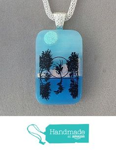 A Fairies Reflection Fused Dichroic Glass Pendant Necklace Silver Tone Bail A2929 from Lolas Glass Pendants http://www.amazon.com/dp/B015EPVHZ2/ref=hnd_sw_r_pi_dp_y7jmwb04PYWTV #handmadeatamazon