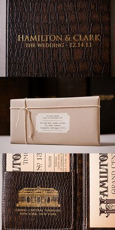 The train wedding invitations were inspired from a vintage train ticket. Shabby Chic Wedding Invitations, Brown Wedding Invitations, Addressing Wedding Invitations, Wedding Invitation Etiquette, Destination Wedding Invitations, Invites, Corporate Business, Business Ideas, Train Timetable