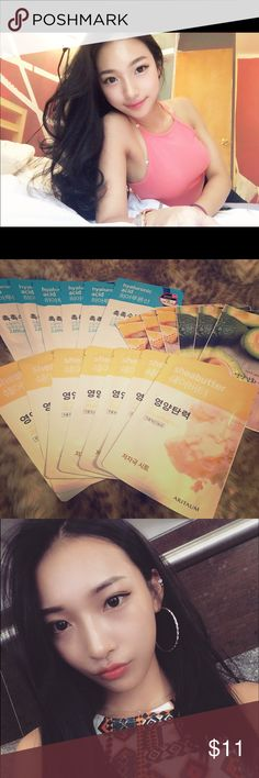 ❤️Mask pack (Korean beauty)❤️ PLEASE TAKE CARE OF YOUR SKIN‼️It's very important to supply moisture. I use these AT LEAST THREE TIMES a week! Skin tells your age. Plz put ur time, effort & money for your skin. ❤ 3 for $12                                                                    ☝🏼Any question about your skin, you're very welcome. Feel free to ask me. (for faster answer, follow my Insta @lin_onme ). If u need any other skin products, DM me…